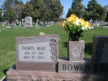 BOWEN, DORIS MAY - Dawes County, Nebraska | DORIS MAY BOWEN - Nebraska Gravestone Photos
