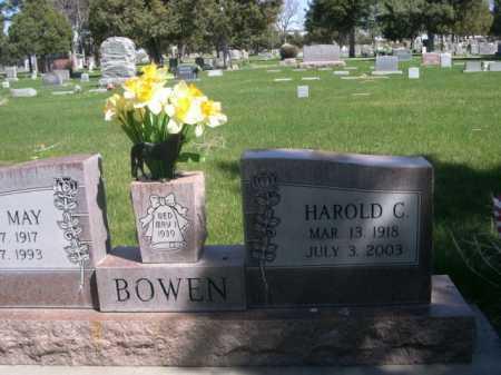 BOWEN, HAROLD - Dawes County, Nebraska | HAROLD BOWEN - Nebraska Gravestone Photos