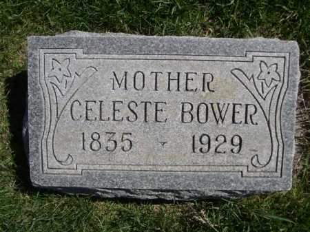 BOWER, CELESTE - Dawes County, Nebraska | CELESTE BOWER - Nebraska Gravestone Photos