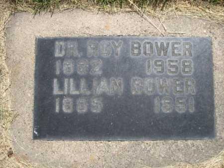 BOWER, LILLIAN - Dawes County, Nebraska | LILLIAN BOWER - Nebraska Gravestone Photos