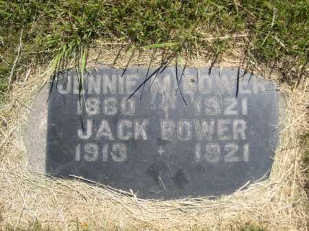 BOWER, JACK - Dawes County, Nebraska   JACK BOWER - Nebraska Gravestone Photos
