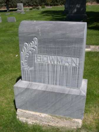BOWMAN, FAMILY - Dawes County, Nebraska | FAMILY BOWMAN - Nebraska Gravestone Photos