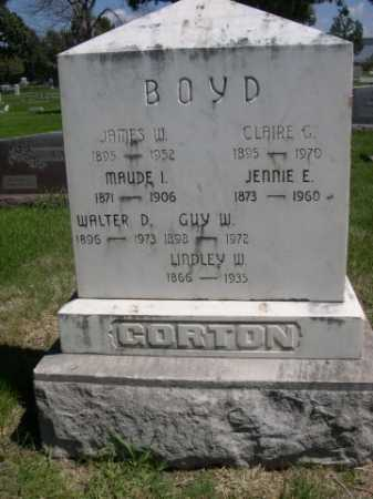BOYD, CLAIR G. - Dawes County, Nebraska | CLAIR G. BOYD - Nebraska Gravestone Photos