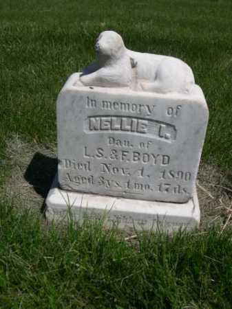 BOYD, NELLIE I. - Dawes County, Nebraska | NELLIE I. BOYD - Nebraska Gravestone Photos