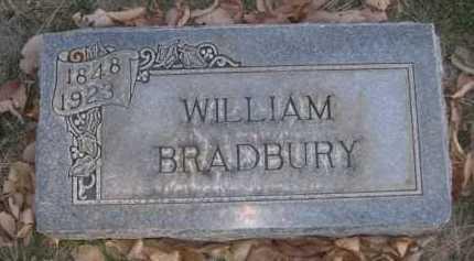 BRADBURY, WILLIAM - Dawes County, Nebraska   WILLIAM BRADBURY - Nebraska Gravestone Photos