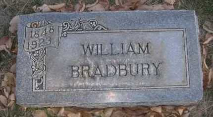 BRADBURY, WILLIAM - Dawes County, Nebraska | WILLIAM BRADBURY - Nebraska Gravestone Photos