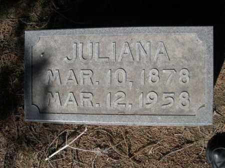 BRADDOCK, JULIANA - Dawes County, Nebraska | JULIANA BRADDOCK - Nebraska Gravestone Photos