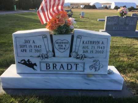 BRADT, JAY A. - Dawes County, Nebraska | JAY A. BRADT - Nebraska Gravestone Photos