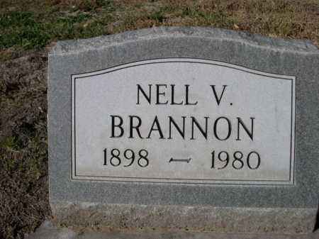 BRANNON, NELL V. - Dawes County, Nebraska | NELL V. BRANNON - Nebraska Gravestone Photos