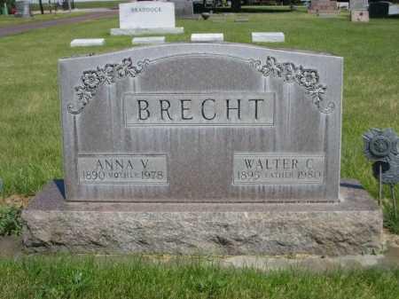 BRECHT, WALTER C. - Dawes County, Nebraska | WALTER C. BRECHT - Nebraska Gravestone Photos