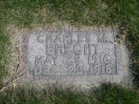 BRECHT, CHARLES M. - Dawes County, Nebraska   CHARLES M. BRECHT - Nebraska Gravestone Photos