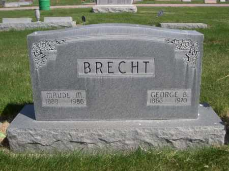 BRECHT, GEORGE B. - Dawes County, Nebraska | GEORGE B. BRECHT - Nebraska Gravestone Photos