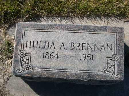 BRENNAN, HULDA A. - Dawes County, Nebraska | HULDA A. BRENNAN - Nebraska Gravestone Photos