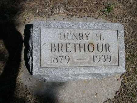 BRETHOUR, HENRY H. - Dawes County, Nebraska | HENRY H. BRETHOUR - Nebraska Gravestone Photos