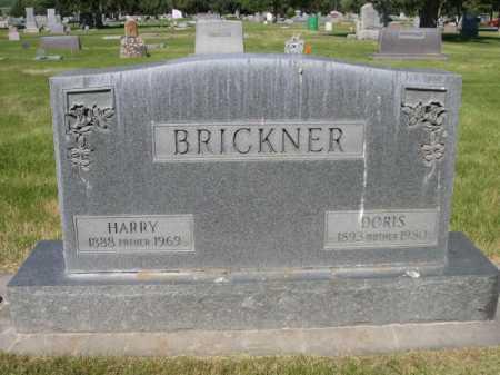 BRICKNER, HARRY - Dawes County, Nebraska | HARRY BRICKNER - Nebraska Gravestone Photos
