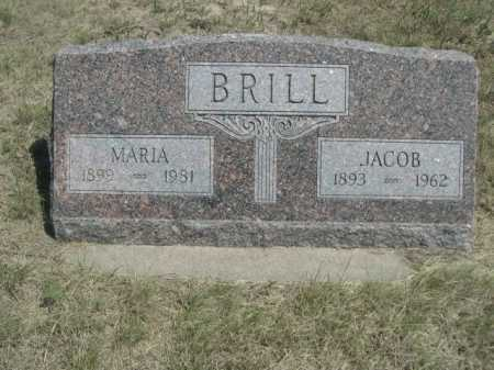 BRILL, JACOB - Dawes County, Nebraska | JACOB BRILL - Nebraska Gravestone Photos