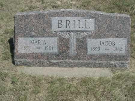 BRILL, MARIA - Dawes County, Nebraska | MARIA BRILL - Nebraska Gravestone Photos
