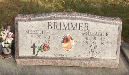 BRIMMER, MEREDITH J. - Dawes County, Nebraska | MEREDITH J. BRIMMER - Nebraska Gravestone Photos