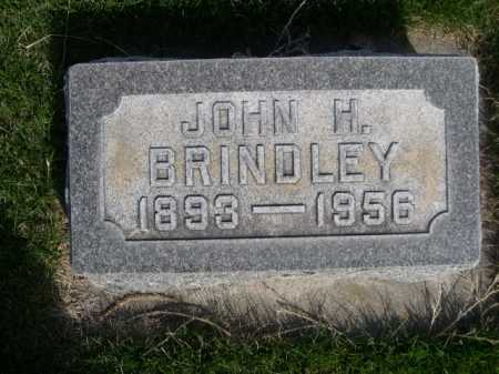 BRINDLEY, JOHN H. - Dawes County, Nebraska | JOHN H. BRINDLEY - Nebraska Gravestone Photos