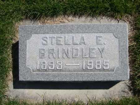 BRINDLEY, STELLA E. - Dawes County, Nebraska | STELLA E. BRINDLEY - Nebraska Gravestone Photos