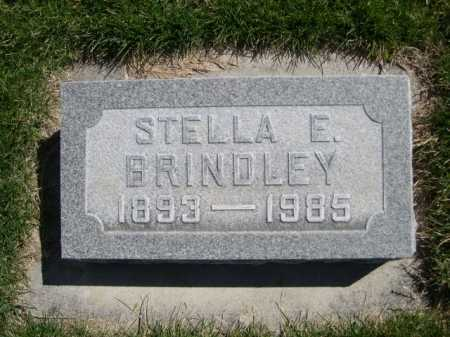 BRINDLEY, STELLA E. - Dawes County, Nebraska | STELLA E. BRINDLEY - Nebraska Gravestone Photos