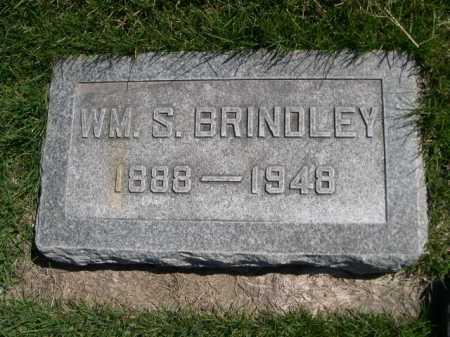 BRINDLEY, WM. S. - Dawes County, Nebraska | WM. S. BRINDLEY - Nebraska Gravestone Photos