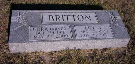 BRITTON, CORA - Dawes County, Nebraska | CORA BRITTON - Nebraska Gravestone Photos