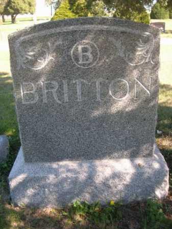 BRITTON, FAMILY - Dawes County, Nebraska | FAMILY BRITTON - Nebraska Gravestone Photos
