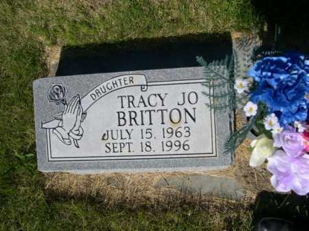 BRITTON, TRACY JO - Dawes County, Nebraska   TRACY JO BRITTON - Nebraska Gravestone Photos