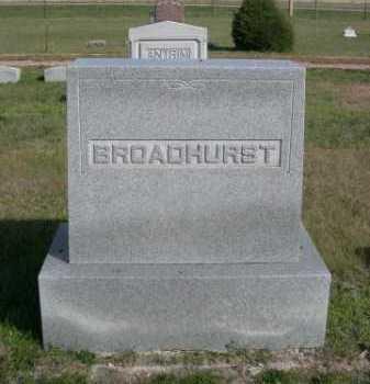 BROADHURST, FAMILLY - Dawes County, Nebraska | FAMILLY BROADHURST - Nebraska Gravestone Photos