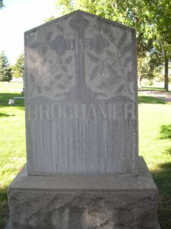 BROGHAMER, FAMILY - Dawes County, Nebraska | FAMILY BROGHAMER - Nebraska Gravestone Photos