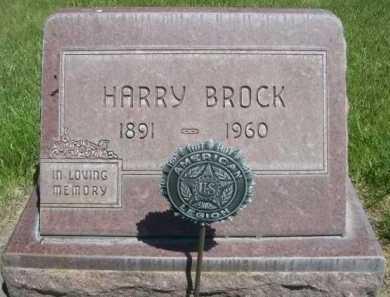 BROCK, HARRY - Dawes County, Nebraska   HARRY BROCK - Nebraska Gravestone Photos