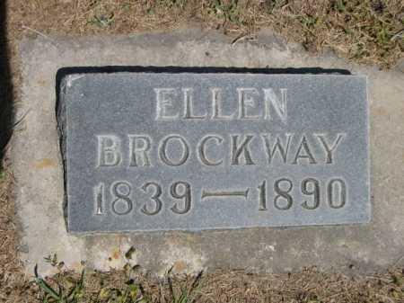BROCKWAY, ELLEN - Dawes County, Nebraska | ELLEN BROCKWAY - Nebraska Gravestone Photos