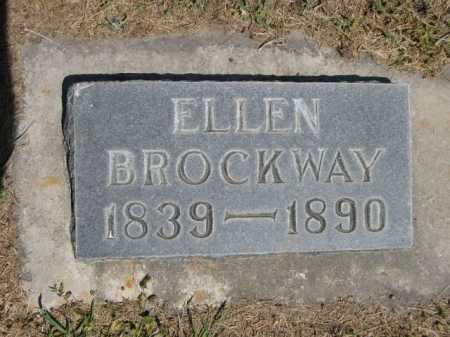 BROCKWAY, ELLEN - Dawes County, Nebraska | ELLEN BROCKWAY - Nebraska Gravestone Photos