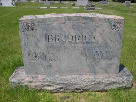 BRODRICK, RALPH S. - Dawes County, Nebraska | RALPH S. BRODRICK - Nebraska Gravestone Photos