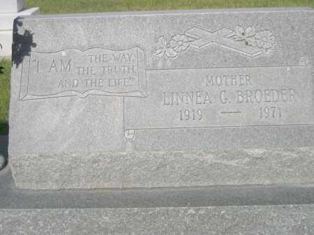BROEDER, LINNEA G. - Dawes County, Nebraska | LINNEA G. BROEDER - Nebraska Gravestone Photos