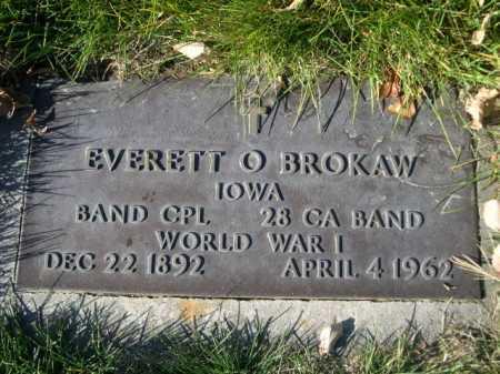 BROKAW, EVERETT O. - Dawes County, Nebraska   EVERETT O. BROKAW - Nebraska Gravestone Photos