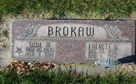 BROKAW, EVERTT O. - Dawes County, Nebraska | EVERTT O. BROKAW - Nebraska Gravestone Photos