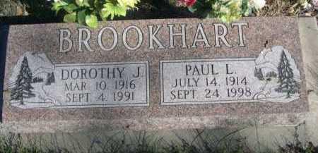 BROOKHART, PAUL L. - Dawes County, Nebraska | PAUL L. BROOKHART - Nebraska Gravestone Photos