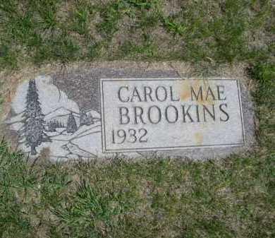 BROOKINS, CAROL MAE - Dawes County, Nebraska   CAROL MAE BROOKINS - Nebraska Gravestone Photos