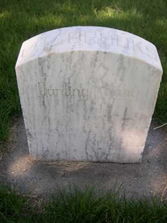 BROOKS, C. E. - Dawes County, Nebraska | C. E. BROOKS - Nebraska Gravestone Photos