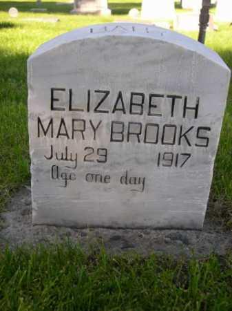 BROOKS, ELIZABETH MARY - Dawes County, Nebraska | ELIZABETH MARY BROOKS - Nebraska Gravestone Photos