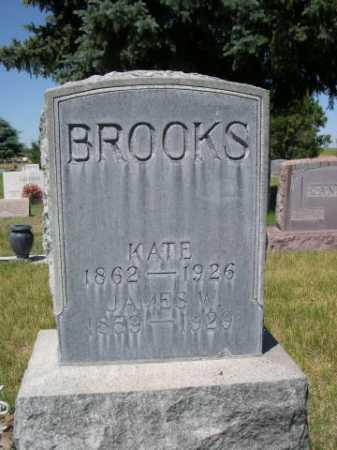 BROOKS, JAMES W. - Dawes County, Nebraska | JAMES W. BROOKS - Nebraska Gravestone Photos