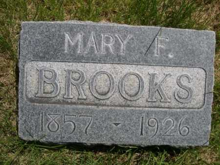 BROOKS, MARY F. - Dawes County, Nebraska | MARY F. BROOKS - Nebraska Gravestone Photos