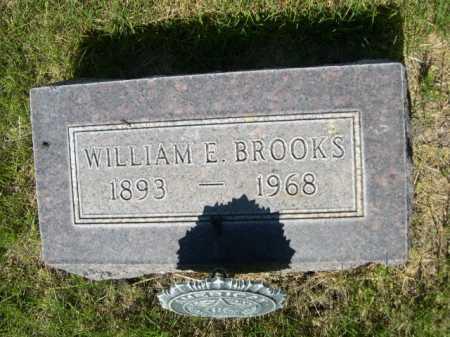 BROOKS, WILLIAM E. - Dawes County, Nebraska   WILLIAM E. BROOKS - Nebraska Gravestone Photos