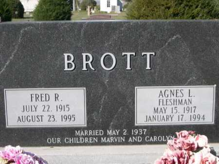 BROTT, FRED R. - Dawes County, Nebraska | FRED R. BROTT - Nebraska Gravestone Photos