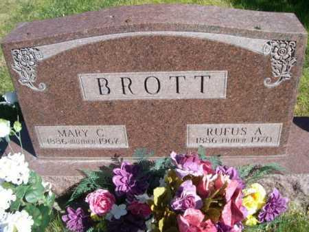 BROTT, MARY C. - Dawes County, Nebraska | MARY C. BROTT - Nebraska Gravestone Photos