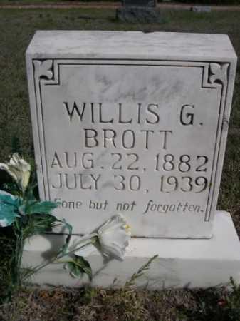 BROTT, WILLIS G. - Dawes County, Nebraska | WILLIS G. BROTT - Nebraska Gravestone Photos