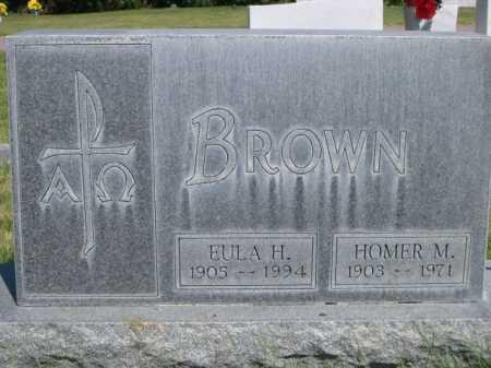 BROWN, EULA H. - Dawes County, Nebraska   EULA H. BROWN - Nebraska Gravestone Photos