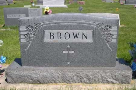 BROWN, FAMILY - Dawes County, Nebraska | FAMILY BROWN - Nebraska Gravestone Photos